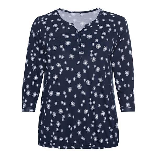 Damen-Shirt mit  3/4 Armlänge