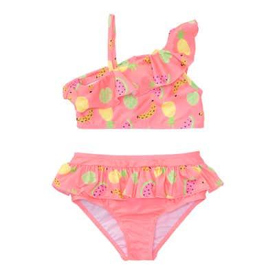 Mädchen-Bikini mit Früchte-Motiv, 2-teilig
