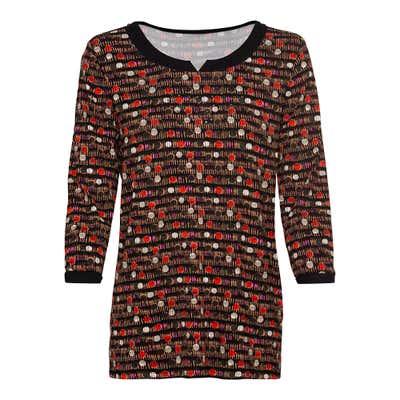 Damen-Shirt mit Schmucksteinchen
