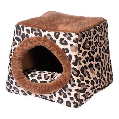 Kuschel-Höhle für Katzen, ca. 40x40x35cm