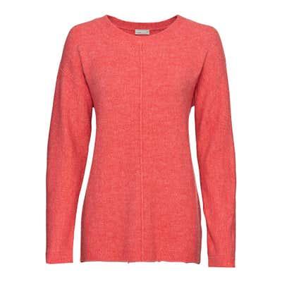 Damen-Pullover mit Ziernaht