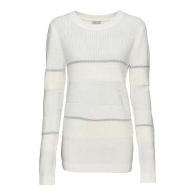 Damen-Pullover mit Glitzerfäden