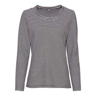 Damen-Shirt mit Struktur-Effekt