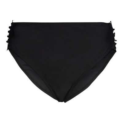 Damen-Bikinihose mit seitlicher Raffung