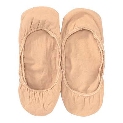 Damen-Füßlinge ohne Naht, 2er-Pack