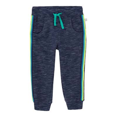 Baby-Jungen-Jogginghose mit Kontrast-Streifen