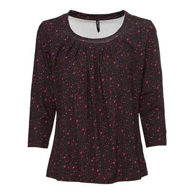 Damen-Shirt mit hübschen Fältchen