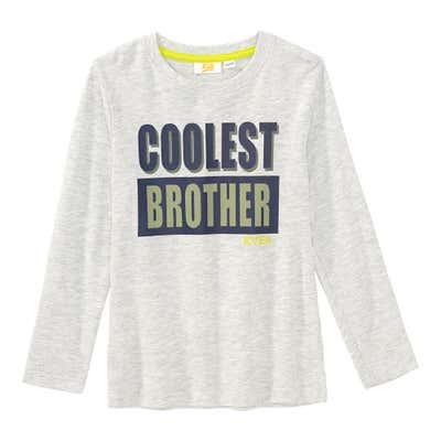 Jungen-Shirt mit coolem Frontaufdruck