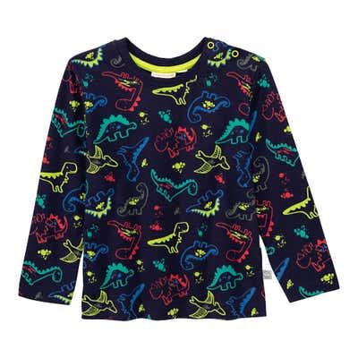 Baby-Jungen-Shirt mit Dino-Muster