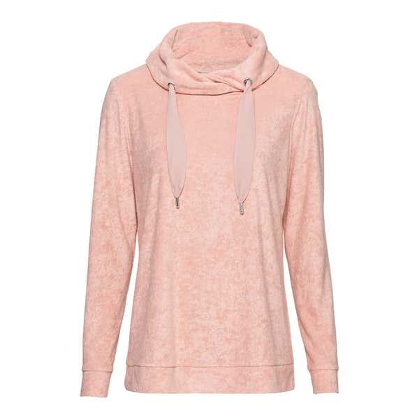 Damen-Sweatshirt in Frottee-Qualität