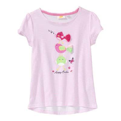 Mädchen-T-Shirt mit Vogelmotiven