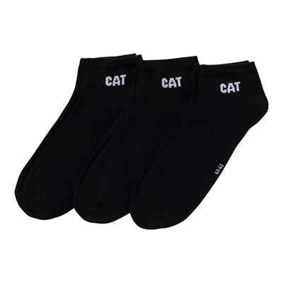 CAT® Herren-Sneaker-Socken, 3er-Pack