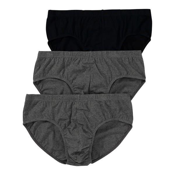 Herren-Slip, 3er-Pack, große Größen