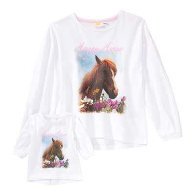 Mädchen-T-Shirt mit passendem Puppenkleid