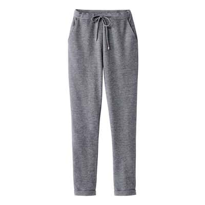 Damen-Joggpant in Melange-Optik