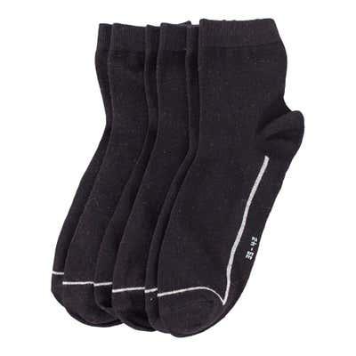 Herren-Kurzschaft-Socken, 3er Pack