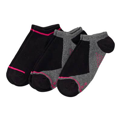 Damen-Sneaker-Socken, 3er-Pack