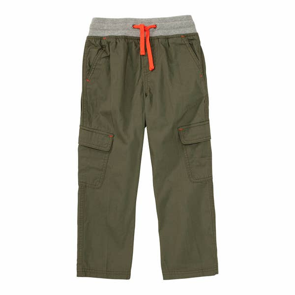 Jungen-Stoffhose mit extra großen Taschen