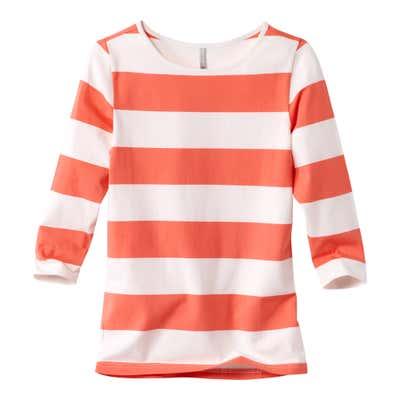 Damen-Shirt mit Ringmuster