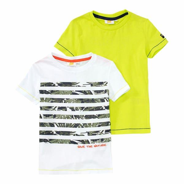 Jungen-T-Shirt, 2er-Pack