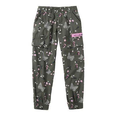 Mädchen-Hose mit Cargo-Taschen