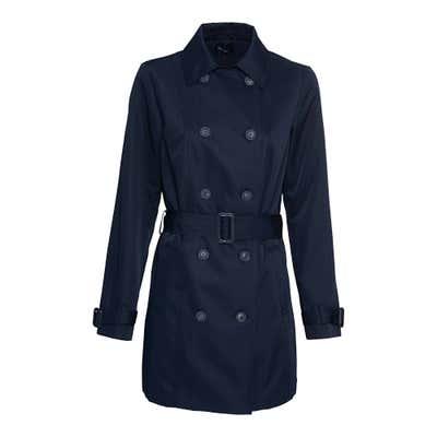 Damen-Trenchcoat mit Gürtel