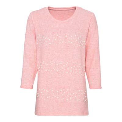 Damen-Sweatshirt mit Verzierung