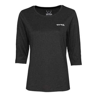 Damen-Fitness-Shirt mit Zierbändern