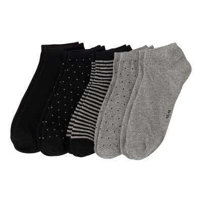 Herren-Sneaker-Socken, 5er-Pack
