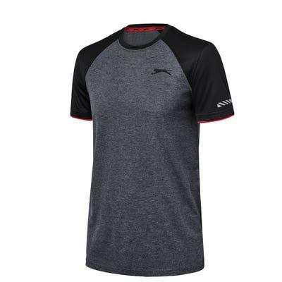 Slazenger Herren-Fitness-T-Shirt mit Frontprint