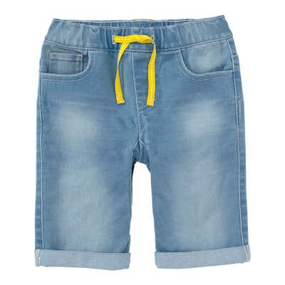 Jungen-Bermudas in Jeans-Optik