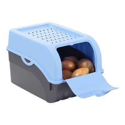 Kartoffel- und Gemüseaufbewahrungsbox, ca. 29x20x19cm
