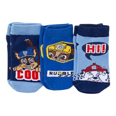 Paw Patrol Kinder-Sneaker-Socken, 3er-Pack