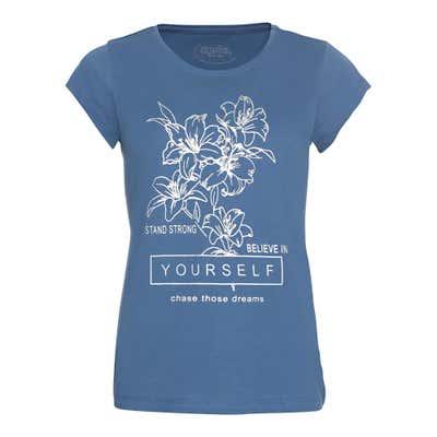 Damen-T-Shirt mit schickem Frontaufdruck