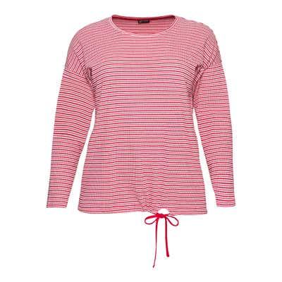 Damen-Shirt mit Bindebändern, große Größen