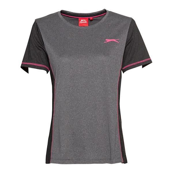 Slazenger Damen-Fitness-T-Shirt