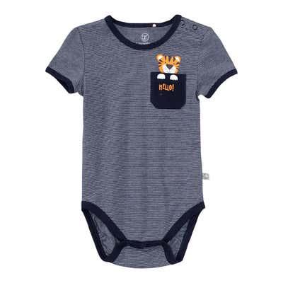 Baby-Jungen-Body mit Brusttasche