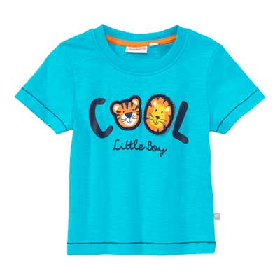 Baby-Jungen-T-Shirt mit Tier-Applikation