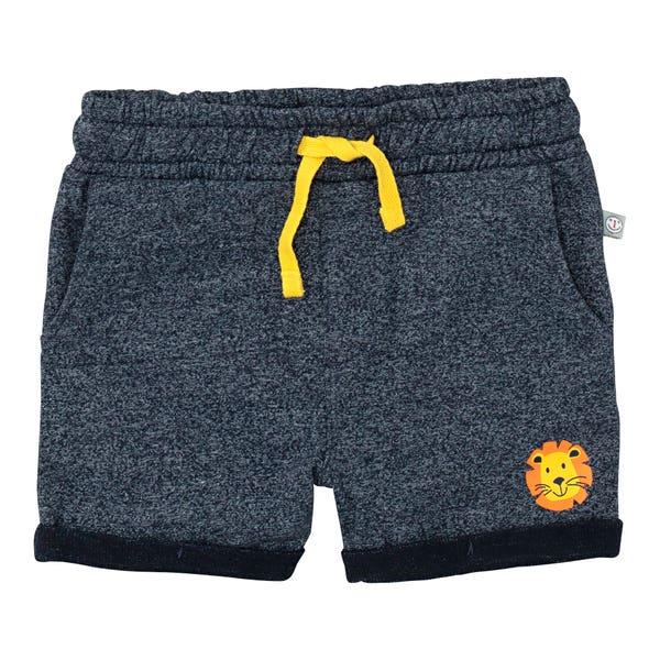 Baby-Jungen-Shorts mit Kontrastbändern