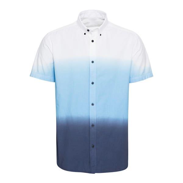 Herren-Hemd in Dip-Dye-Optik