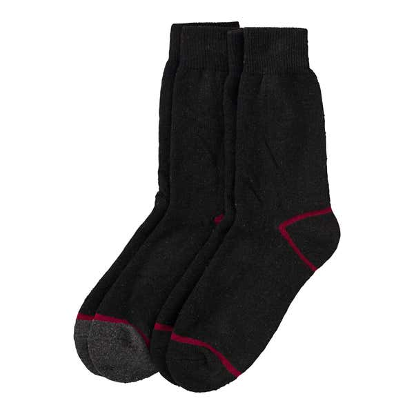 Herren-Outdoor-Socken, 2er Pack