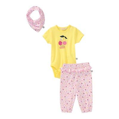 Baby-Mädchen-Set, 3-teilig