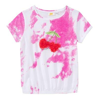 Mädchen-T-Shirt mit Spray-Effekt