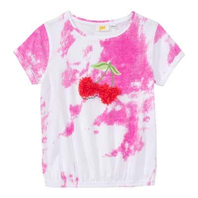 Mädchen T-Shirt mit Spray-Effekt
