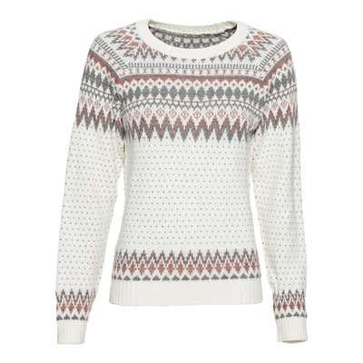 Damen-Sweatshirt im Norweger-Style
