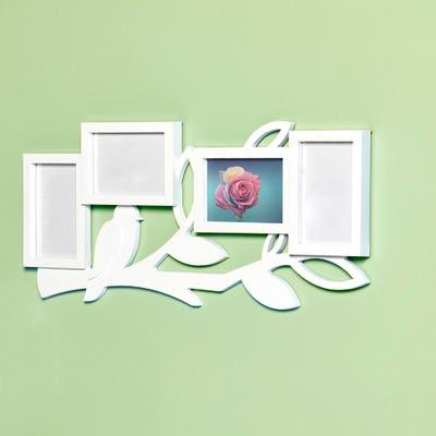 Fotorahmen im Collagen-Format, ca. 63x27x3cm