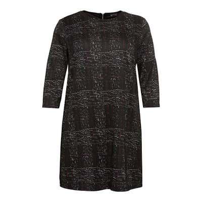 Damen-Kleid mit Karomuster, große Größen