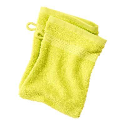 Waschhandschuh in verschiedenen Farben, ca. 16x21cm, 2er-Pack