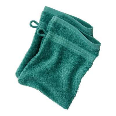 Waschhandschuh in verschiedenen Farben, ca. 16x21cm, 2er Pack