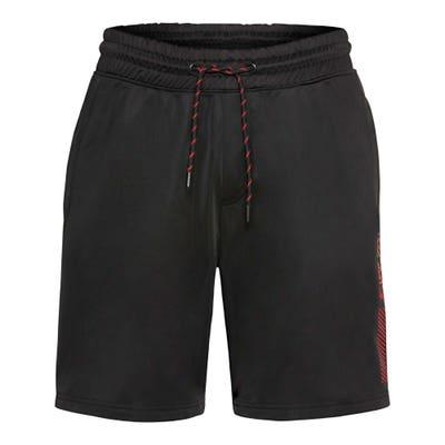 Herren-Fitness-Bermudas mit geringelter Kordel